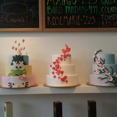 Photo taken at Rowie's Bakery by Cindy C. on 7/21/2012