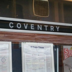 Photo taken at Coventry Railway Station (COV) by James E. on 7/18/2012