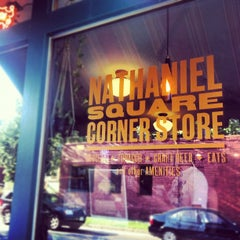 Photo taken at Nathaniel Square Corner Store by Amy E. on 6/20/2012