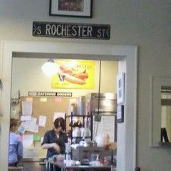 Photo taken at Rochester Deli by KAREN K. on 3/23/2012