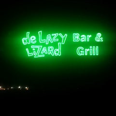 Photo taken at De Lazy Lizard Bar & Grill by Debbie G on 7/20/2012