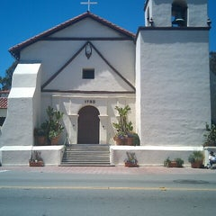 Photo taken at Mission San Buenaventura by Corey P. on 6/23/2012
