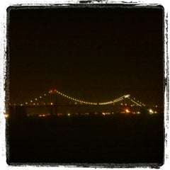 Photo taken at Throgs Neck Bridge Lookout Parking Lot by Julian A. on 2/19/2012