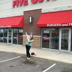 Photo taken at Five Guys by Aubrey P. on 5/11/2012