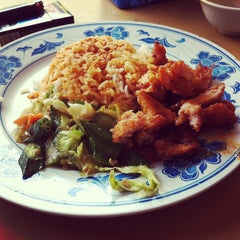 Photo taken at Restaurant Taiwan Noodle House 台湾面食 by Jackie L. on 5/9/2012