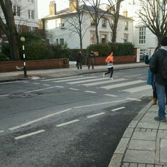 Photo taken at Abbey Road Crossing by Thaisa L. on 2/11/2012