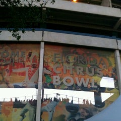 Photo taken at Florida Citrus Bowl by Andrew T. on 12/29/2011