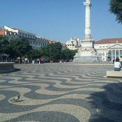 Photo taken at Rossio by Carlos A. on 10/21/2011
