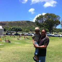 Photo taken at Diamond Head Memorial Park Cemetery by Tamiko J. on 5/28/2011