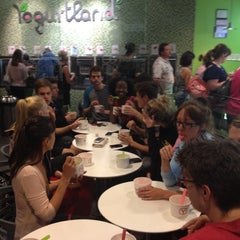 Photo taken at Yogurtland by Jonathan L. on 6/2/2012