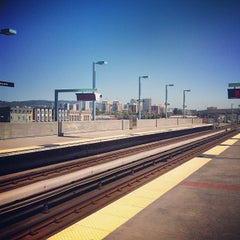 Photo taken at West Oakland BART Station by Matt H. on 4/20/2012