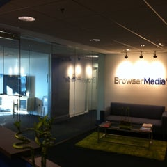 Photo taken at BrowserMedia by Kerry G. on 6/7/2011