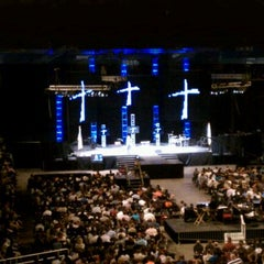 Photo taken at Freedom Hall by Tamara N. on 10/9/2011