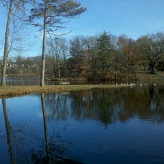 Photo taken at Meshanticut Park by Fred H. on 11/26/2011