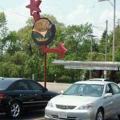 Photo taken at Big Star Drive-In by Sarah G. on 5/20/2012