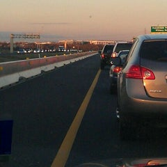 Photo taken at President George Bush Turnpike (PGBT) by Ronnie B. on 1/27/2012