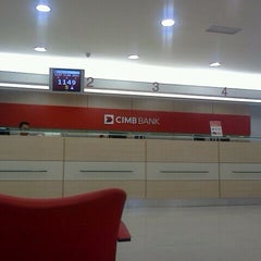Photo taken at CIMB Bank by Fikri Z. on 2/2/2012