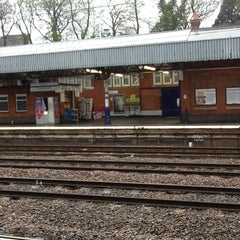 Photo taken at Hitchin Railway Station (HIT) by Alan H. on 4/29/2012