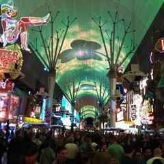 Photo taken at Las Vegas Club Hotel & Casino by Brett F. on 3/18/2012