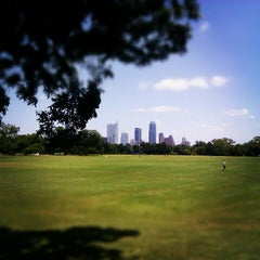 Photo taken at Zilker Park by Myles W. on 8/4/2012