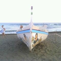 Photo taken at Playa Rincón de la Victoria by Gustavo M. on 7/14/2012