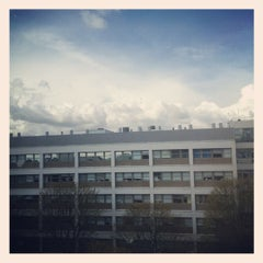 Photo taken at University of Warwick Library by Chao X. on 4/11/2012