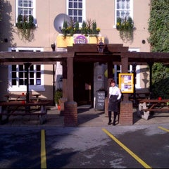 Photo taken at The Parrs Wood Hotel by Mark G. on 11/23/2011