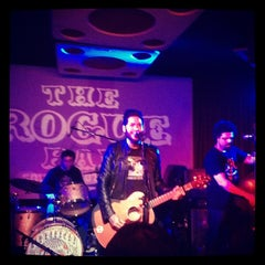 Photo taken at The Rogue Bar by Lauren F. on 2/19/2012