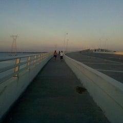 Photo taken at The Hathaway Bridge by Tara G. on 4/13/2011