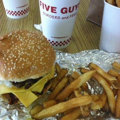 Photo taken at Five Guys by Mikey Ariel B. on 5/9/2012