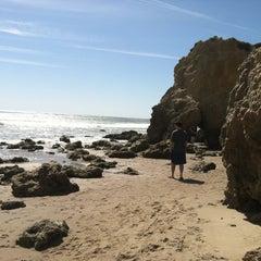 Photo taken at El Matador State Beach by Tina M. on 4/3/2012