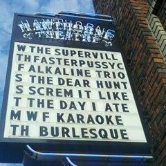 Photo taken at Hawthorne Theatre by Erin B. on 7/21/2011