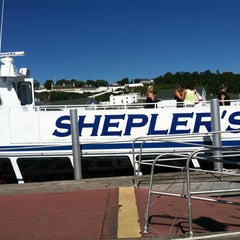 Photo taken at Shepler's Mackinac Island Ferry by Ashley M. on 8/27/2011