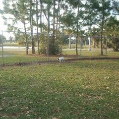 Photo taken at Estero Community Park Dog Run by Hank A. on 2/1/2012