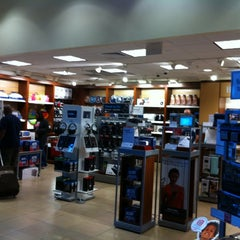 Photo taken at Brookstone by PoP O. on 2/24/2012