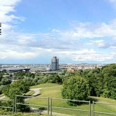 Photo taken at Olympiapark by Tim R. on 6/13/2012