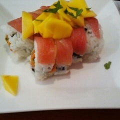 Photo taken at Sushi House by Scott E. on 2/10/2012