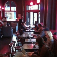 Photo taken at Red Rock Coffee by yves d. on 11/3/2011