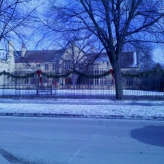 Photo taken at Paine Art Center & Gardens by Cameron W. on 1/2/2012