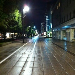 Photo taken at Laisvės alėja | Liberty Avenue | Аллея Свободы by Glukalo2 on 7/17/2012