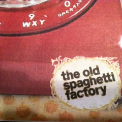 Photo taken at The Old Spaghetti Factory by Sharon M. on 7/23/2012