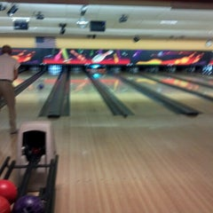 Photo taken at Bowlero Lanes by Michael on 6/24/2012