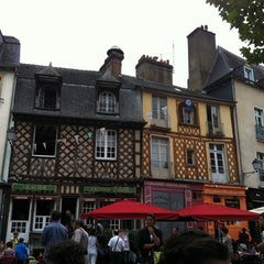 Photo taken at Place des Lices by Thomas B. on 9/3/2011