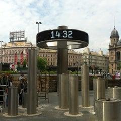 Photo taken at Nyugati tér by Csaba K. on 5/16/2012