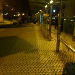 Photo taken at Estación de Autobuses de Donostia/San Sebastián by Eneko S. on 12/25/2011