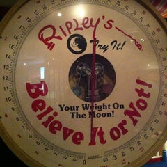 Photo taken at Ripley's Believe It Or Not! by Mommam c. on 6/23/2012