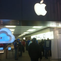 Photo taken at Apple Store, Providence Place by Bill G. on 3/4/2012