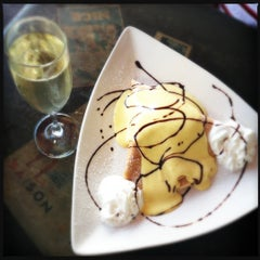 Photo taken at La Creperie Cafe by ポール ク. on 7/10/2012