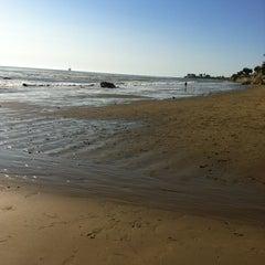 Photo taken at Isla Vista Beach by Jason B. on 12/10/2011