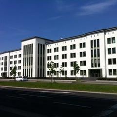 Photo taken at Bundesverwaltungsamt Gästehaus Johannisthal by Speaker A. on 5/1/2012